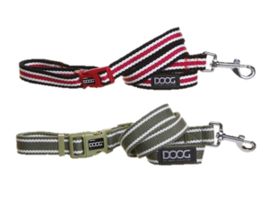 DOOG Clip it Striped dog leads