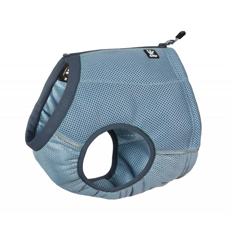Hurtta Cooling Vest in blue with blue trim