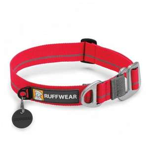 Ruffwear Crag Dog Collar Red Currant