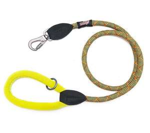 Long Paws Comfort Rope Leash For Dogs Green