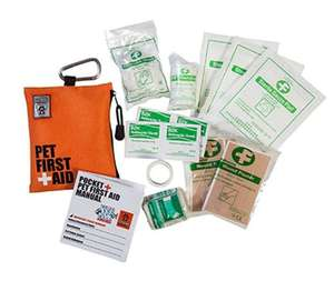 Canine Friendly Pocket Pet First Aid Kit For Outdoors and Travel