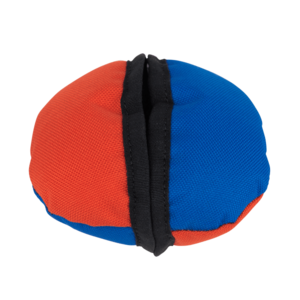 Tug-E-Nuff The Clam Dog Toy Orange and Blue
