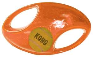 Kong Jumbler Dog Toy American Football