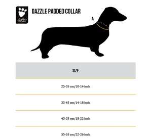 Hurtta Lifeguard Dazzle Dog Collar Size Chart