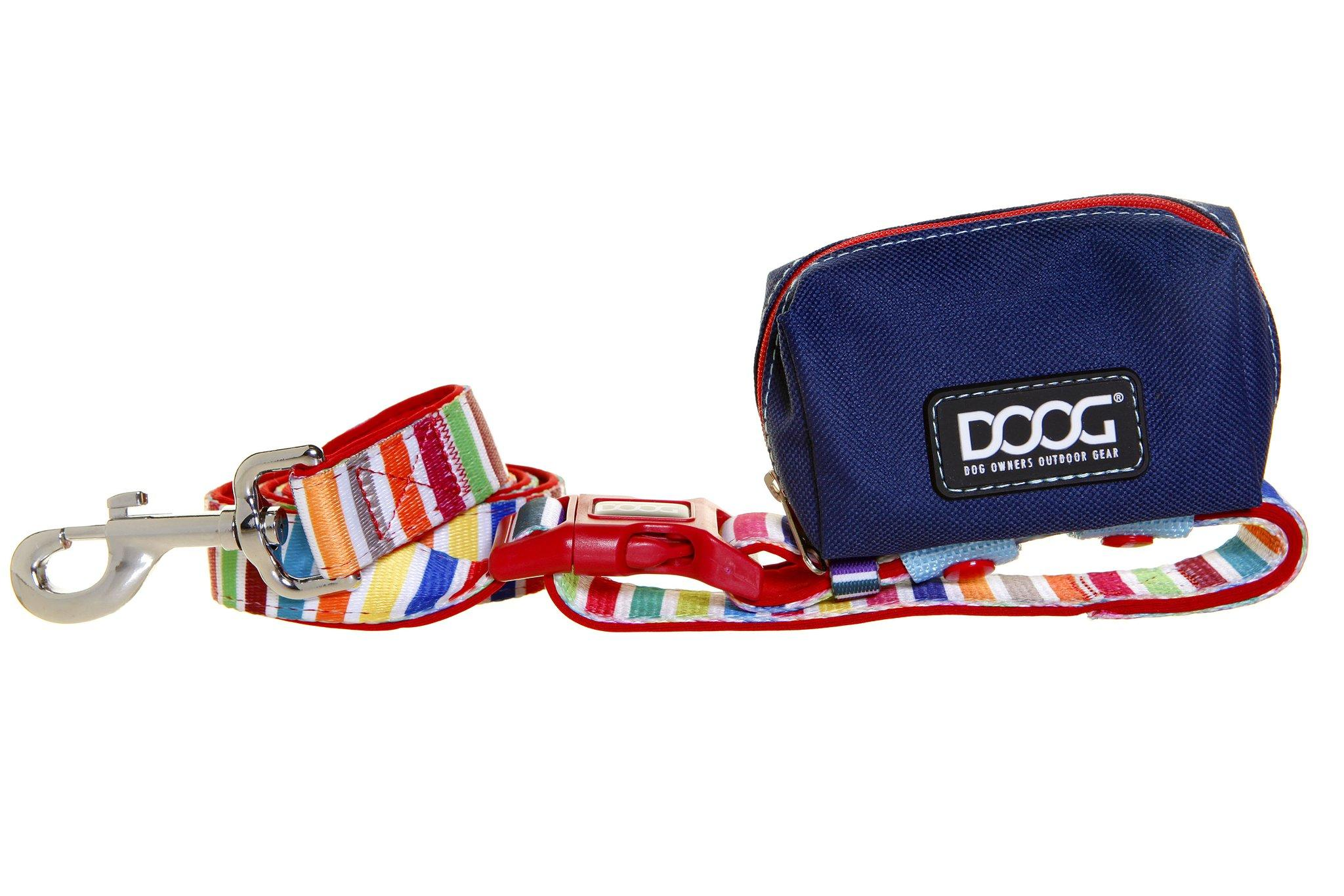 DOOG Walkie Pouch - Navy/Red with Scooby Lead