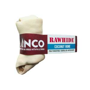 Anco Rawhide Coconut - Bone Small