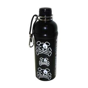 long paws pet water bottle - puppy pirate design