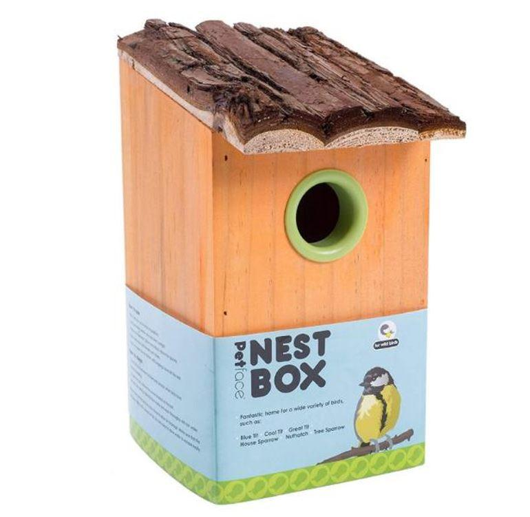 Petface Nest Box for Wild Birds
