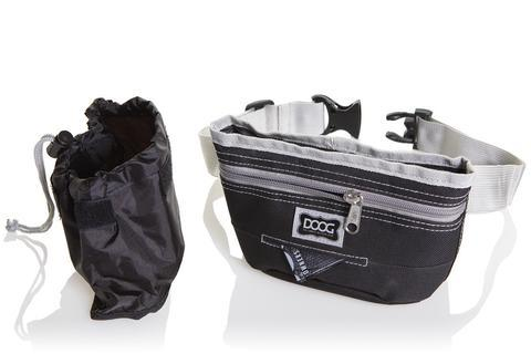 DOOG Good Dog Treat Pouch in Black/Grey
