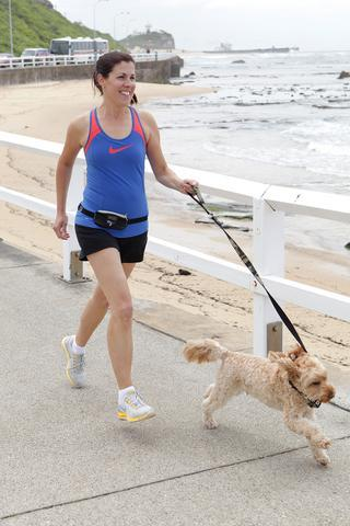 DOOG Mini belt for running and jogging with your dog