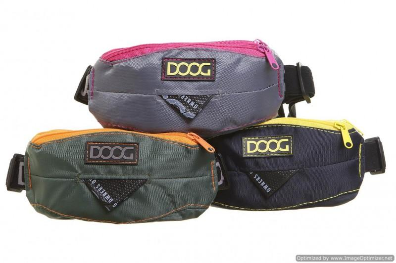 DOOG mini belt for dog walking - Trio of colours