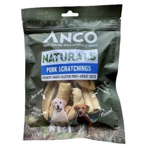 Anco Naturals Pork Scratchings Dog Treat