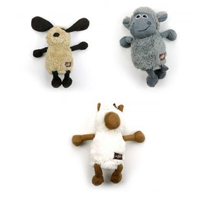 AFP lamb cuddle flopper soft dog toy