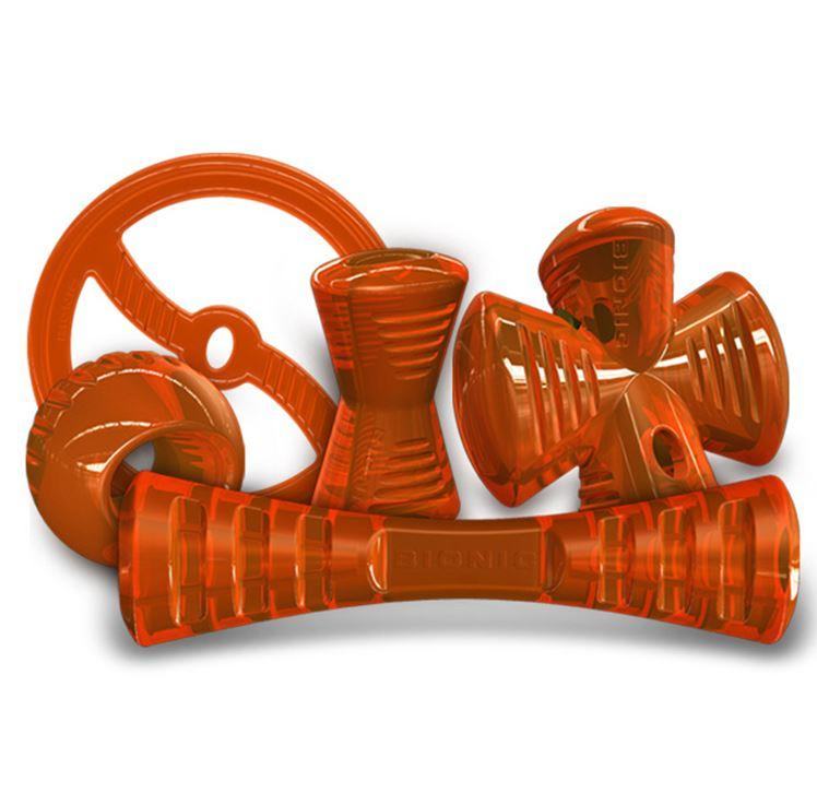 Bionic Rubber Durable Dog Toy Range