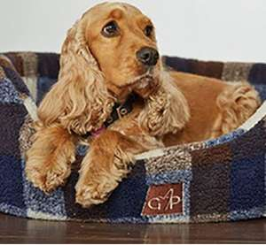 Gor Pets Highland Premium Check Dog Bed Collection