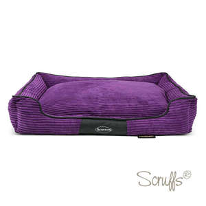 Scruffs Milan Orthopaedic Bed For Dogs Plumb X Large