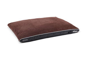 Scruffs Milan Orthopaedic Pet Mattress For Dogs - Chocolate Brown