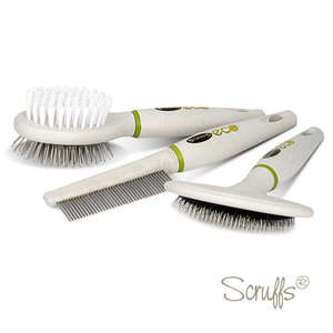 Scruffs Eco Grooming Brush Set For Dogs