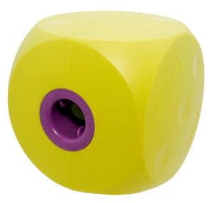 classic buster cube treat dog toy - lime