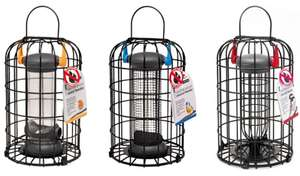 Petface Squirrel Proof Wild Bird Feeders Trio