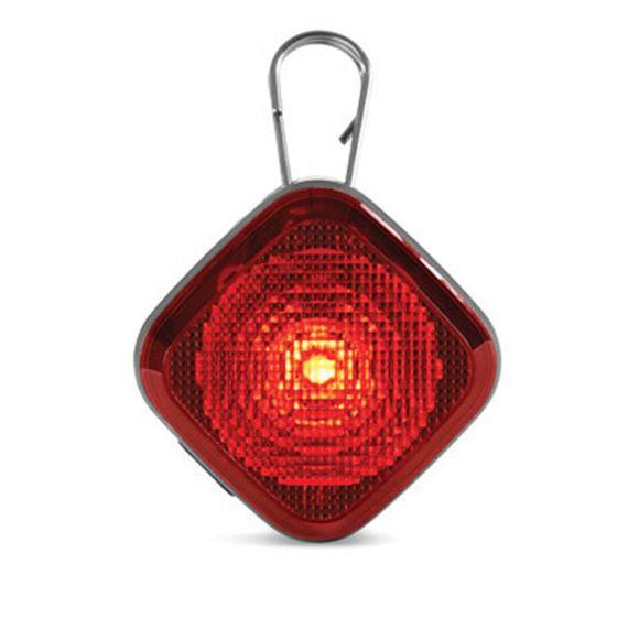 LED Clip-on Safety light in red