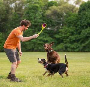 Kurgo Winga Disc Thrower - fetch fun