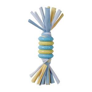 Smart Pet Love Puppy's 1st Rings With Rope Toy - Blue