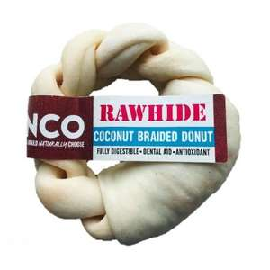 Anco Rawhide Coconut  - Braided Donut Medium