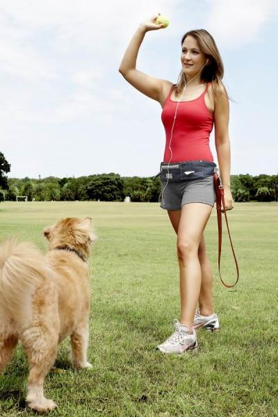 DOOG Walkie Belt For Dog Walking at the park