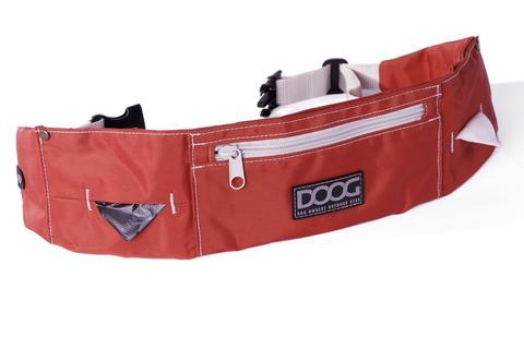 DOOG Walkie Belt For Dog Walking - Red