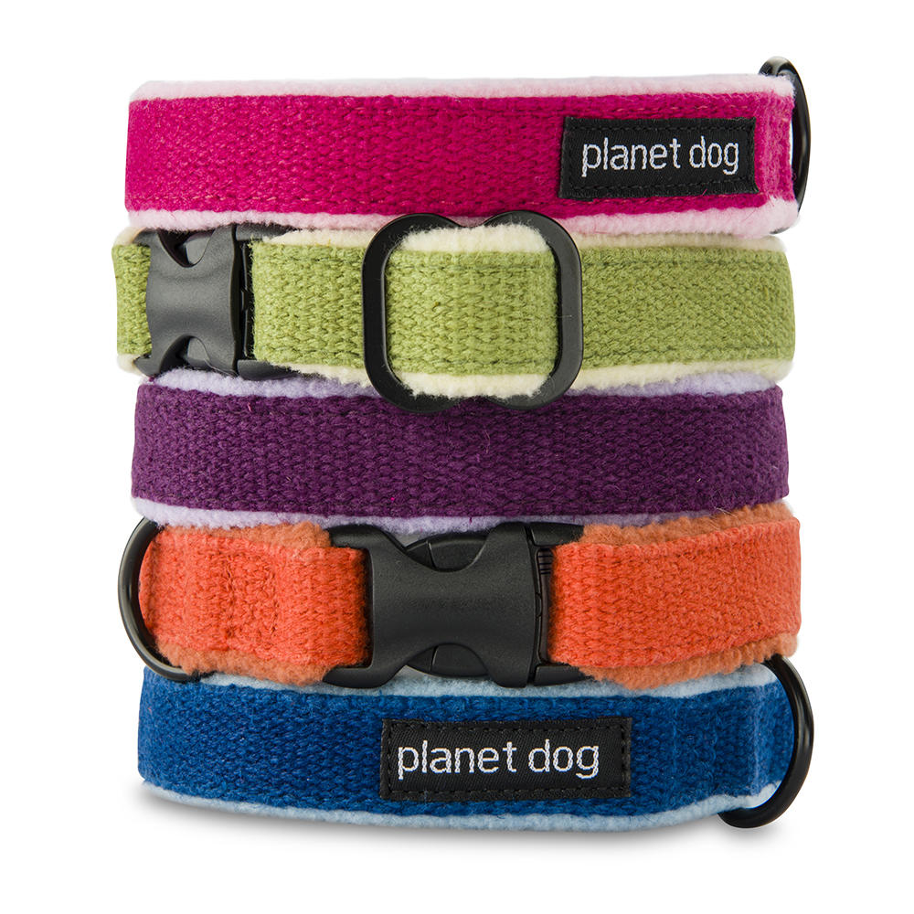Planet Dog Cozy Hemp Dog Collars