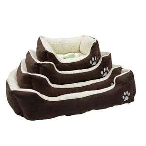 Petface Sam's Luxury Square Dog Bed with different sizes