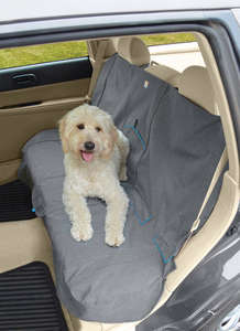 Kurgo car bench seat cover for dogs Charcoal