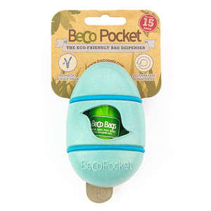 Beco Pets Beco Pocket Poop Bag Dispenser Blue