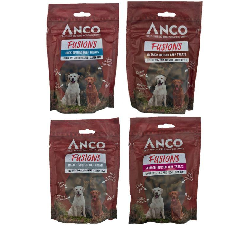 Anco Fusions Grain Free Natural Dog Treats