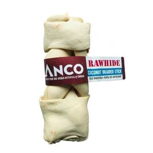 Anco Rawhide Coconut - Braided Stick Large