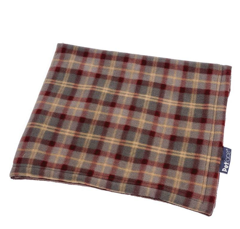 Petface Country Check Pet Blanket