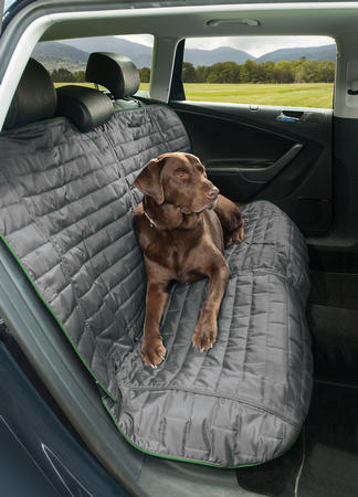 Kurgo Loft Bench Car Seat Cover For Dogs Grey