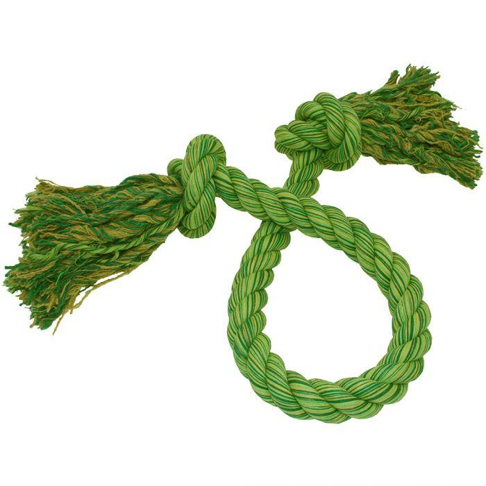 Happy Pet Nuts For Knots King Size Tug Rope - Green