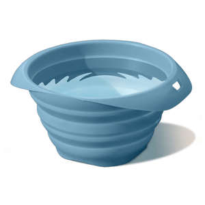 Kurgo collaps-a-bowl blue