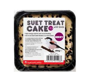 Petface Suet Cake Block with Berries