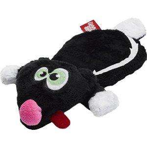 Hear Doggy! Dog Toys Silent Squeaky Soft Toy - Sid Skunk