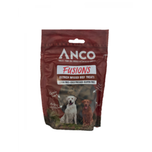 Anco Fusions Grain Free Natural Dog Treats - Beef & Ostrich