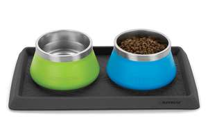 Ruffwear Basecamp Bowl on Basecamp Mat