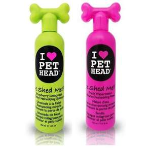 Pet Head De Shed Me Shampoo and Rinse For Dogs