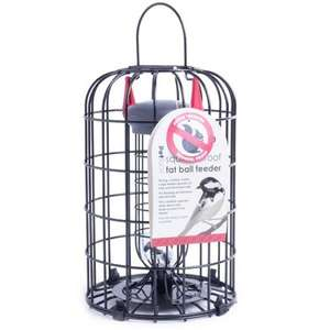Petface Squirrel Proof Wild Bird Feeder Fat Ball
