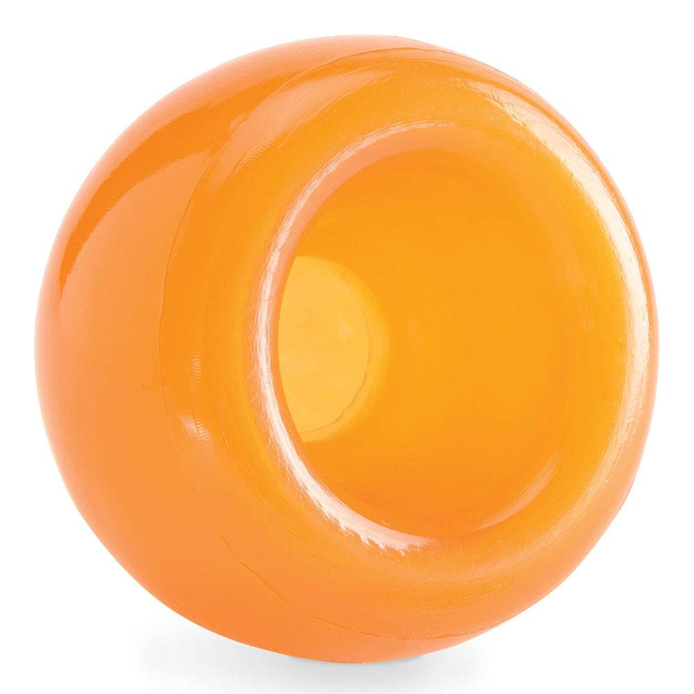 Planet Dog Orbee Tuff Snoop interactive Dog Toy - Orange