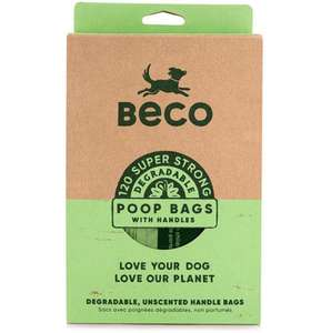 Beco Bags Eco-Friendly Poop Bags with handles