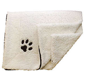 Petface Sam's Luxury comforter pet blanket folded
