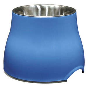 Dogit Elevated Dog Bowl - Blue